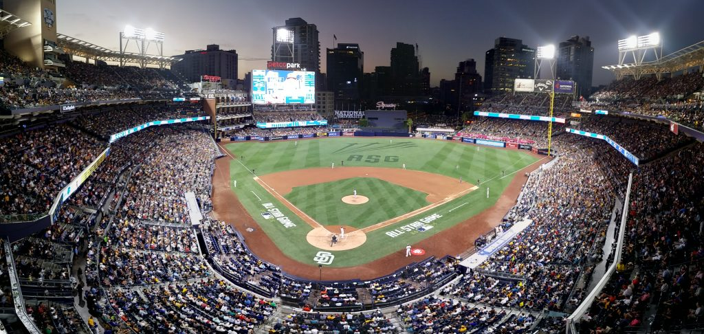2016 All-Star Game at Petco Park in San Diego
