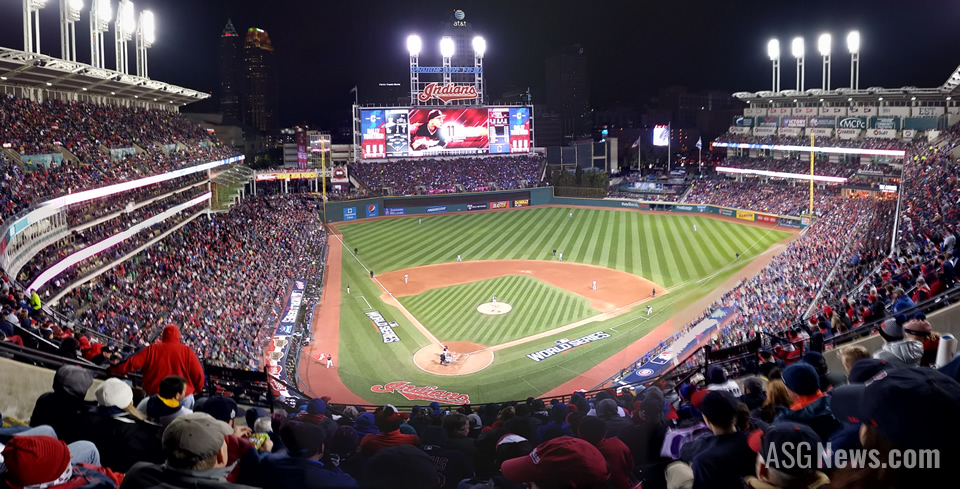 Progressive Field, 2016 World Series Game 1